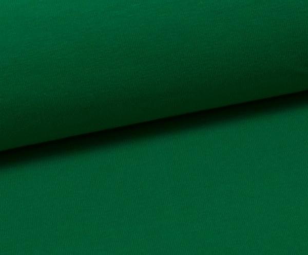 Jersey Uni - weiß - Vanessa - grasgrün - 365
