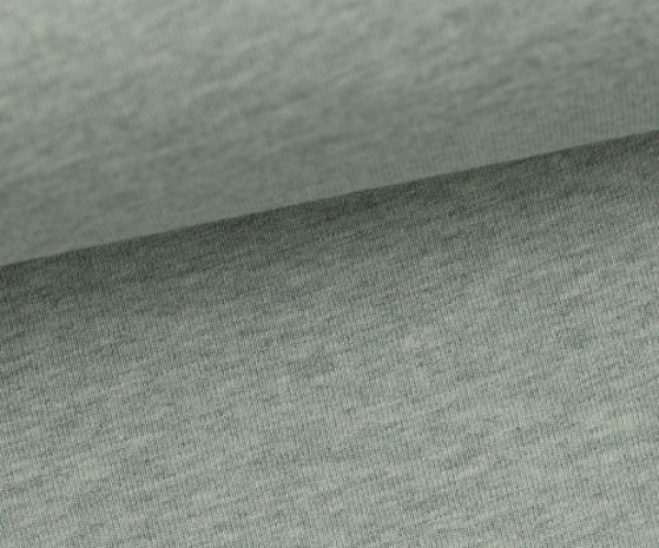 Jersey Uni -- Vanessa - mint - melliert - 1263