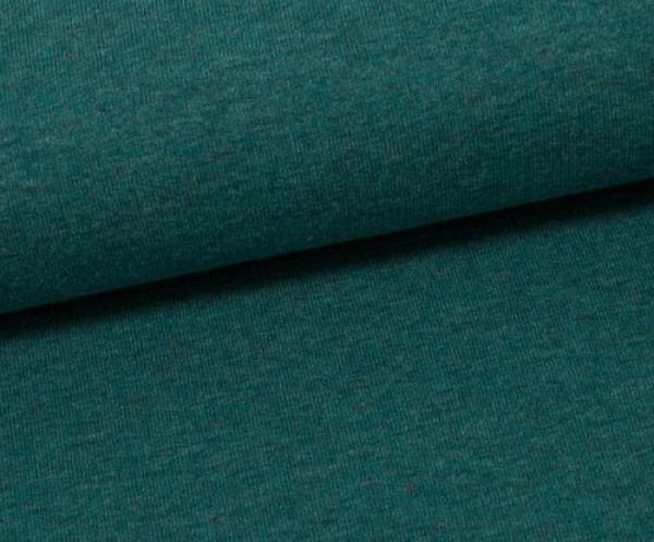 Jersey Uni -- Vanessa - meergrün - melliert - 1563