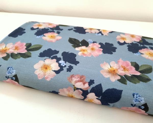 Lillestoff - flowers - Bio Summersweat