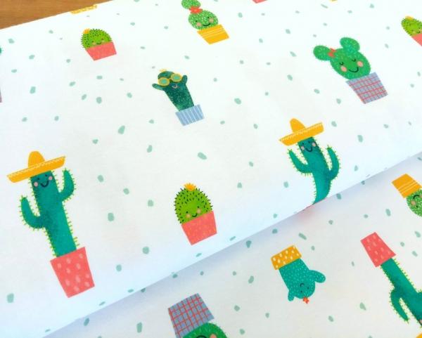 Lillestoff - Bio Jersey - Cute Cactus