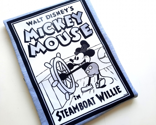 Panel - Sommersweat - Steamboat Willie - Mickey Mouse