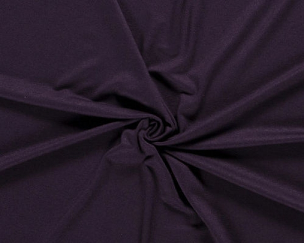Viskose Jersey - Uni - dark purple